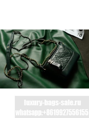 Chanel Samll CHANEL'S GABRIELLE Hobo Bag in Aged Calfskin AS0865 Green (Top Quality)
