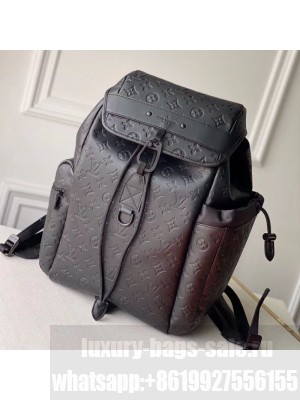 Louis Vuitton Men's Discovery Backpack in Monogram Leather M43680 Black 2020 Collection