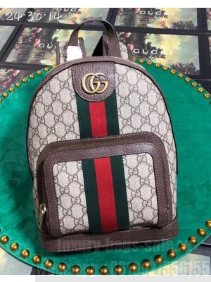 Gucci Ophidia GG Small Backpack 547965 Beige 2018