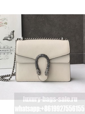 Gucci Dionysus Mini Leather Bag 421970 White 01 Collection