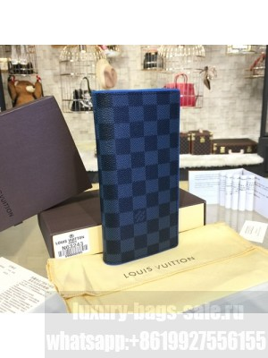 Louis Vuitton Brazza Wallet Daimer Graphite Canvas Leather Spring/Summer 2017 Collection N63168