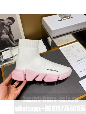 Balenciaga Unisex Speed 2.0 Knit Sock Sneakers 049 2021 Collection
