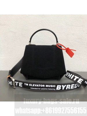 Off-White/Byredo Fabric Canvas & Leather Shoulder Bag Black 2018 Collection