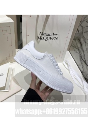 Alexander McQueen Deck Lace Up Plimsoll 03 2021 Collection