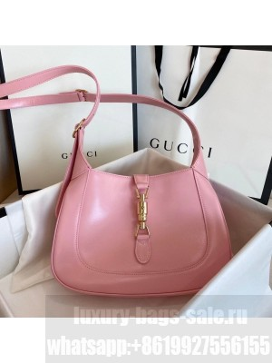 Gucci Vintage Jackie Hobo Bag 28cm Calfskin Leather Fall/Winter 2020 Collection, Light Pink