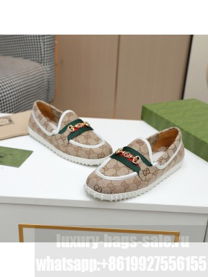 GUCCI GG multicolor Loafer Brown 2021 Collection