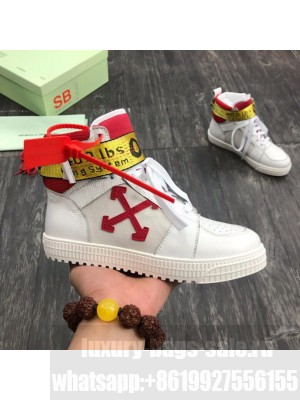 Off-White Industrial Tape Sneakers 2020 Collection