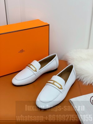 Hermes Colette loafer White 2021 Collection