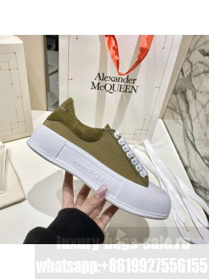 Alexander McQueen Deck Lace Up Plimsoll 092021 Collection