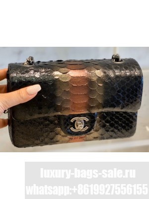 Chanel Python Classic Flap Small Bag A1116 04