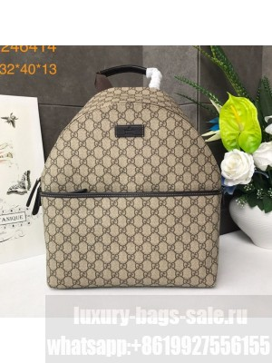 Gucci GG Backpack 246414 Beige 2019 Collection