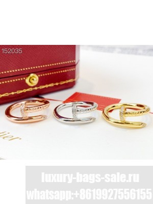 Cartier Paved Nail Ring