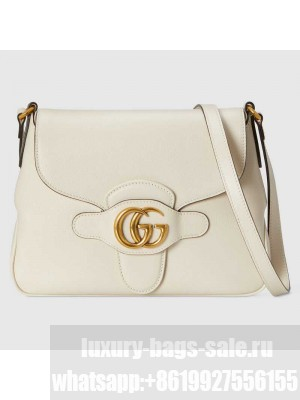 Gucci Small messenger bag with Double G 648934 white