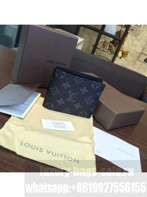 Louis Vuitton Fragment Design Bi Fold Wallet Monogram Canvas Leather Spring/Summer 2016 Collection Limited Edition