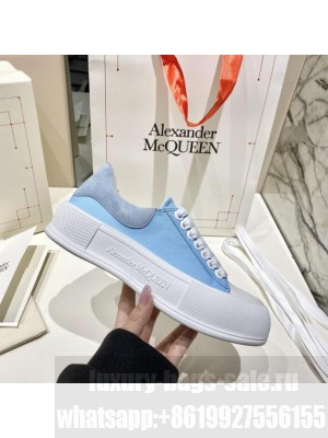 Alexander McQueen Deck Lace Up Plimsoll 02 2021 Collection