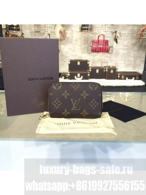 Louis Vuitton Key Holder Zippy Pouch Monogram Leather Canvas Fall/Winter 2016 Collection R20005