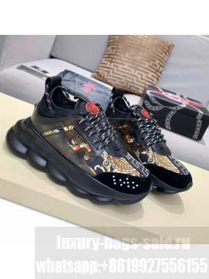Versace Print Sneakers Black 16 Spring/Summer 2021 Collection