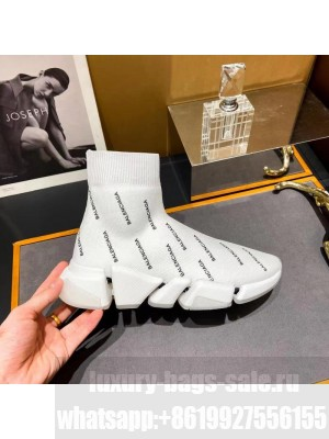 Balenciaga Unisex Speed 2.0 Knit Sock Sneakers 043 2021 Collection