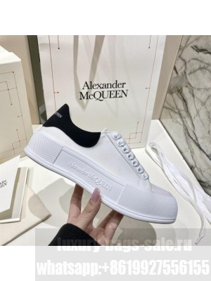 Alexander McQueen Deck Lace Up Plimsoll 0172021 Collection