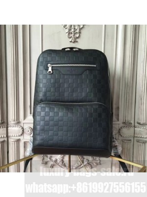 Louis Vuitton Avenue Backpack Bag Damier Infini Canvas Fall/Winter 2017 Collection N41043, Onyx