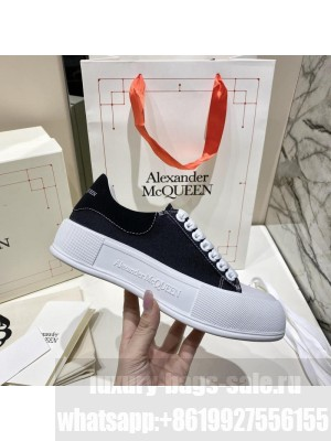Alexander McQueen Deck Lace Up Plimsoll 0162021 Collection