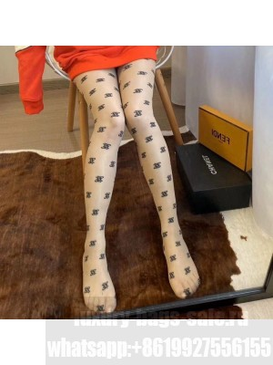 Fendi All-over FF Tights Nude 06 2019 Collection