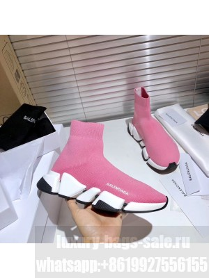 Balenciaga Unisex Speed 2.0 Knit Sock Sneakers 2021 Collection
