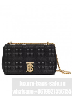 Burberry Small Quilted Lambskin Lola Bag Black