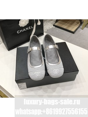 CHANEL mary janes Spring/Summer 2021 Collection Silver