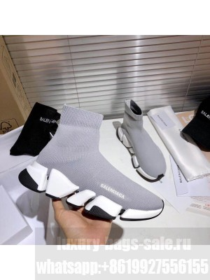 Balenciaga Unisex Speed 2.0 Knit Sock Sneakers 032 2021 Collection