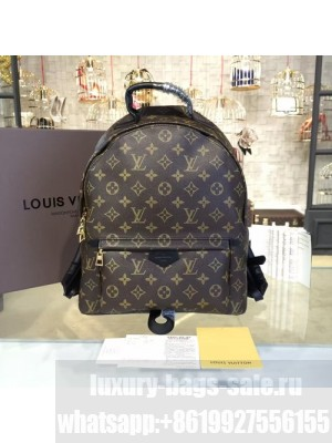 Louis Vuitton Palm Springs Backpack MM Monogram Cruise 2016 Collection, Noir M41561