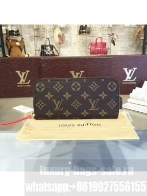 Louis Vuitton Clemence Wallet Monogram Leather Fall/Winter 2016 Collection M61536, Poppy