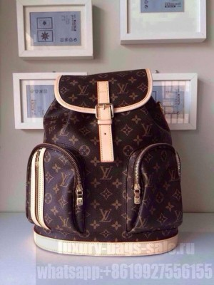 Louis Vuitton Bosphore Backpack Monogram Canvas Leather Spring 2014 Collection M40107