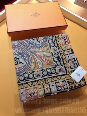 Hermes Shawl in cashmere and silk 140 x 140cm 2021 H055