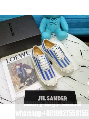 JIL SANDER Leather sneakers with vulcanized rubber sole 15 2021 Collection