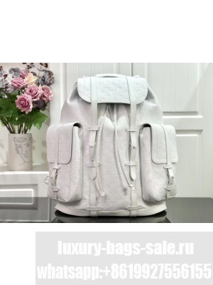 Louis Vuitton CHRISTOPHER BACKPACK PM M53286 2019 White